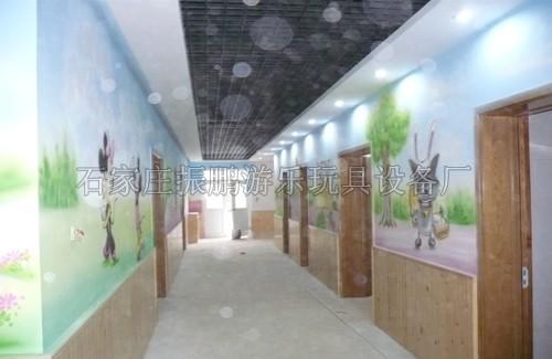 简单手绘花朵图片_家具 过道墙体彩绘素材_过道墙体彩绘素材高清图片
