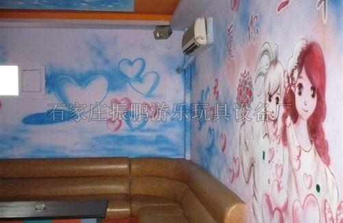 幼儿园教室墙面环境布置 幼儿园走廊墙壁环境装饰 幼儿园楼梯墙体喷画